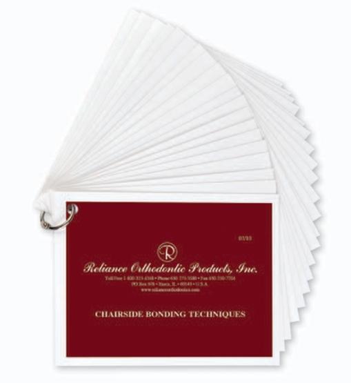 Chairside Bonding Technique Cards