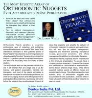 Book -Orthodontic Pearls Hardcover – 2011 (by Larry W.White (Author))